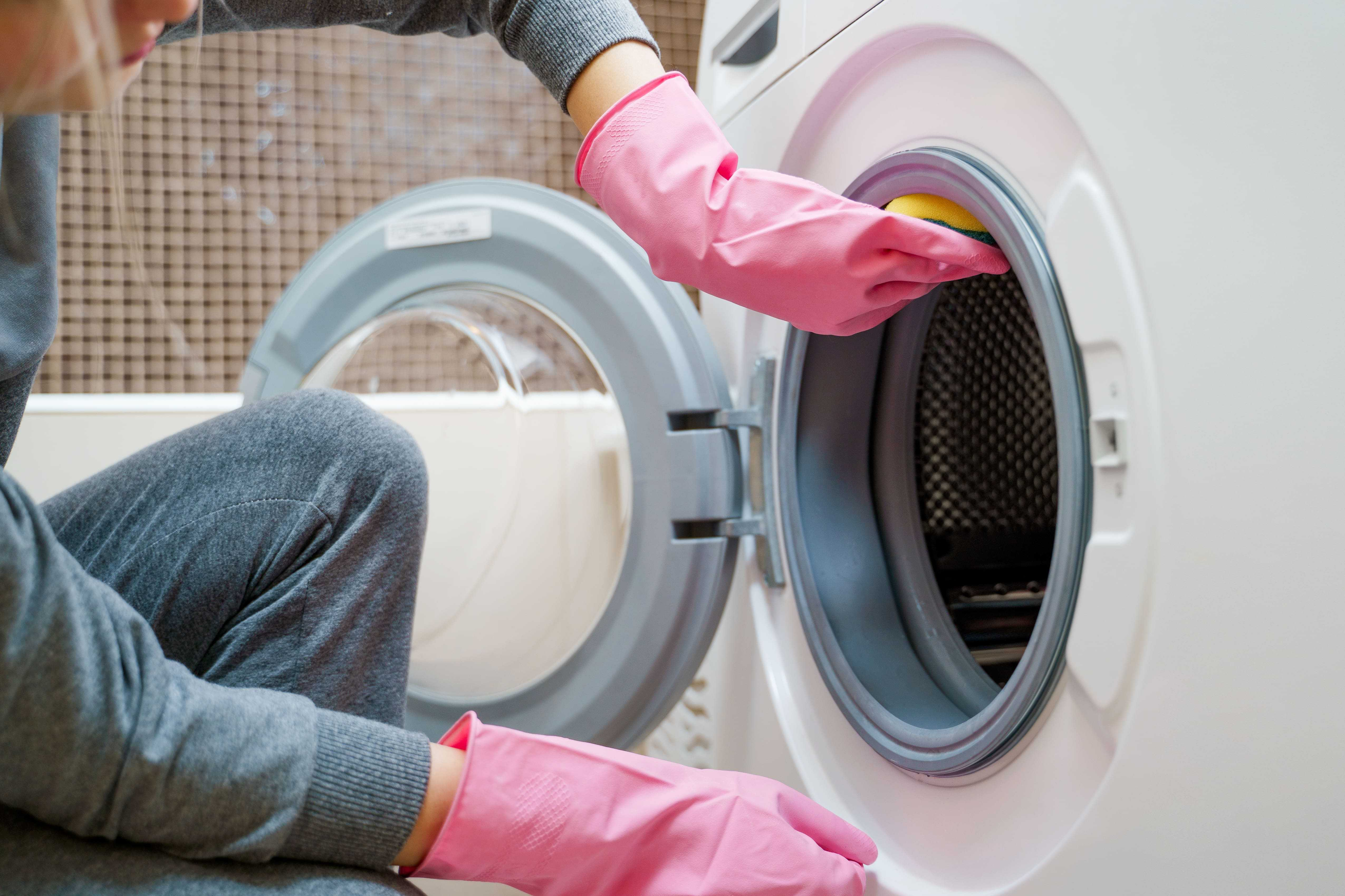 Frühjahrsputz - auch die Waschmaschine sollte gereinigt werden