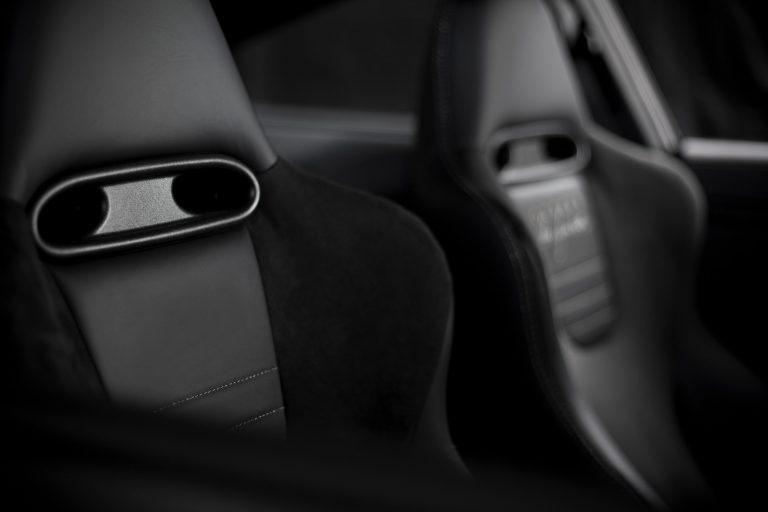 Alcantara wird häufig für Autositze verwendet.