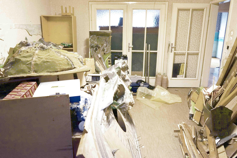 Wohnung vor der Entrümpelung